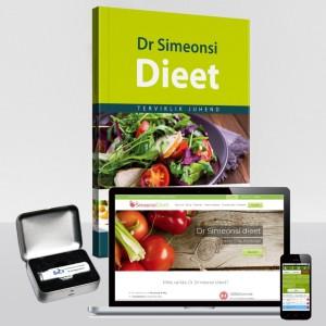 Dr Simeonsi dieedipakett ja juhendiraamat