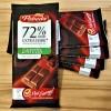 Mõru šokolaad 72% Steviast, lisatud suhkruta - Pobeda Vkusa